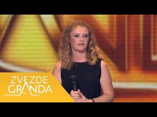 Katarina Rasic - Kao so u moru, Tugo nesreco - (live) - ZG 1 krug 16/17 - 01.10.16. EM 2