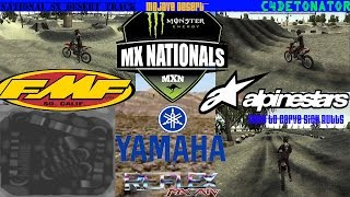 [MX vs ATV Reflex] Custom Track Review - Mojave Desert National