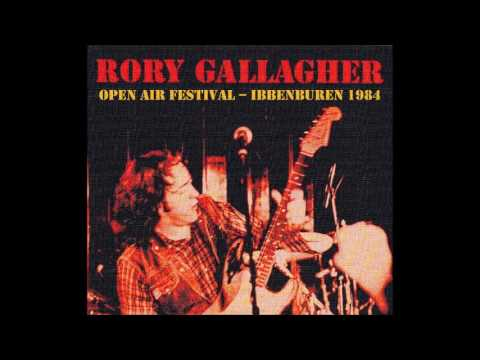 Rory Gallagher - Ibbenburen 1984 + 2 Interviews 1984/1995