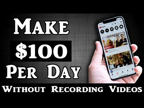 Make $100 Per Day On YouTube Without Recording ANY Videos