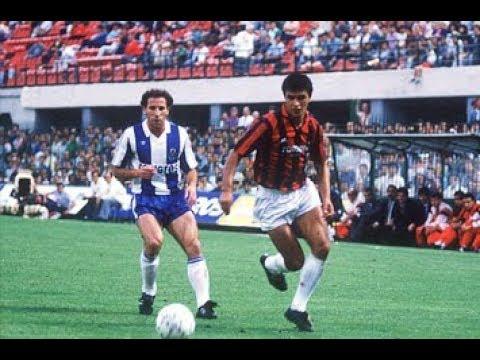 MILAN-PORTO 2-0 MUNDIALITO 1987 GOL DI VIRDIS E BORGHI (SCUSATE L'AUDIO)