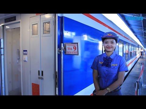 Cận Cảnh Tàu Hỏa 5 Sao Sài Gòn đi Phan Thiết