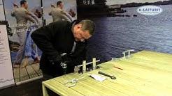 Venerengas 12mm täkkipulttikiinnitys