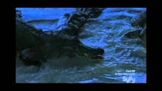 Mega Python vs Gatoroid Trailer