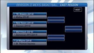 NCAA men's DII basketball selection show (FULL)