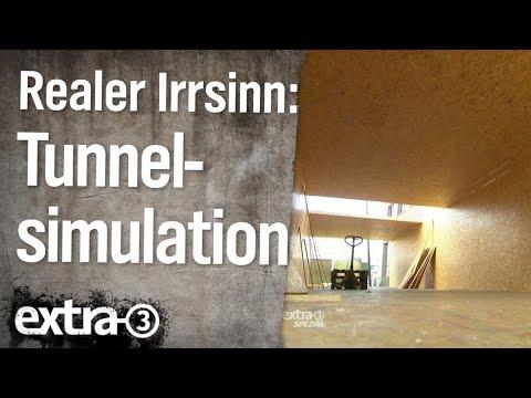 Realer Irrsinn: Tunnelsimulation in Vechta  | extra 3 | NDR