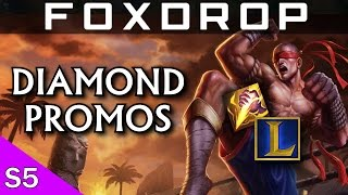 Diamond 3 Promo - Lee Sin Jungle Gameplay