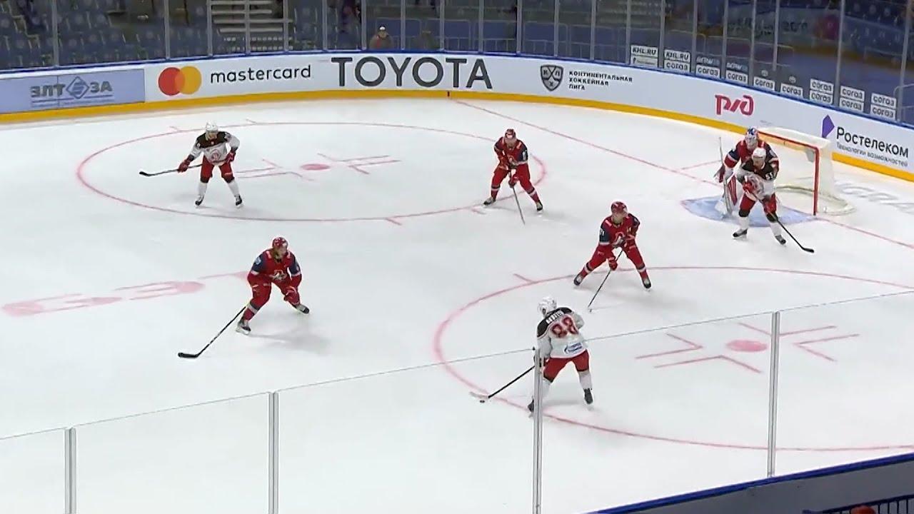 Ярославский «Локомотив» проиграл подмосковному «Витязю»