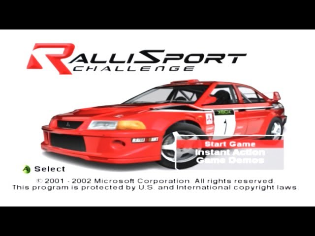 Playthrough [Xbox] RalliSport Challenge