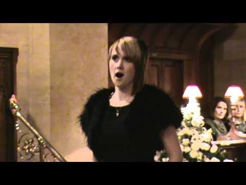 Elin Mai Singing in Wootton Bassett.mpg