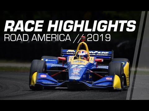 2019 NTT IndyCar Series: Road America Race Highlights