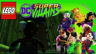 Lego DC Super Villains Arkham Asylum Gold Bricks!