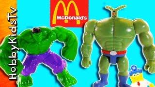 Hulk vs Plank-TON Toys Play