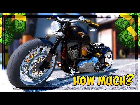 gta 5 biker dlc cost