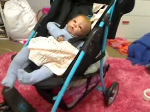 Hwo To Make Your Reborn Doll Look Real In A Stroller Youtube