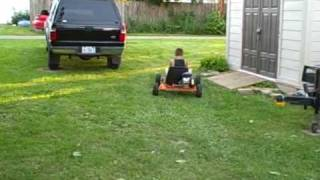 Homemade Gokart (gocart) With Harbor Freight 2.5 Hp Engine 79cc