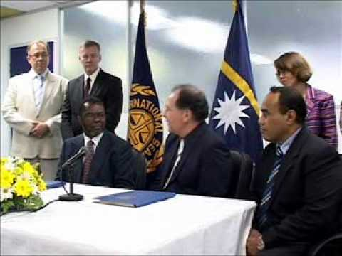 ISA-NORI Contract Signing