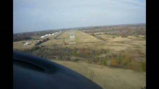 Kingair 200 landing at Athens Texas v2