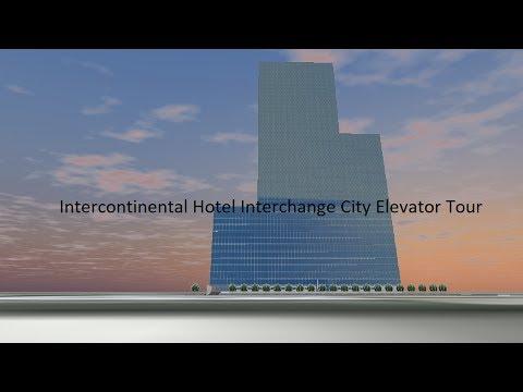 Tour of the Elevators @ Intercontinental Hotel Interchange City
