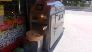 Electric peanut roaster machine -OZSTAR