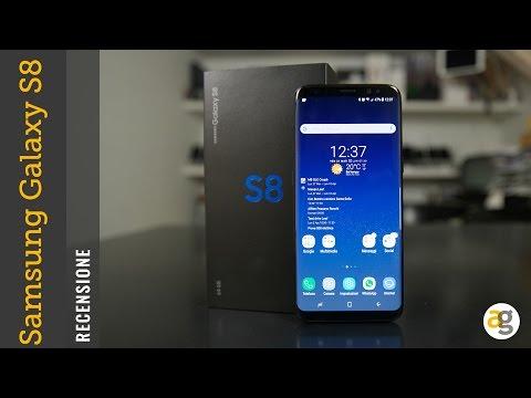 RECENSIONE Samsung Galaxy S8