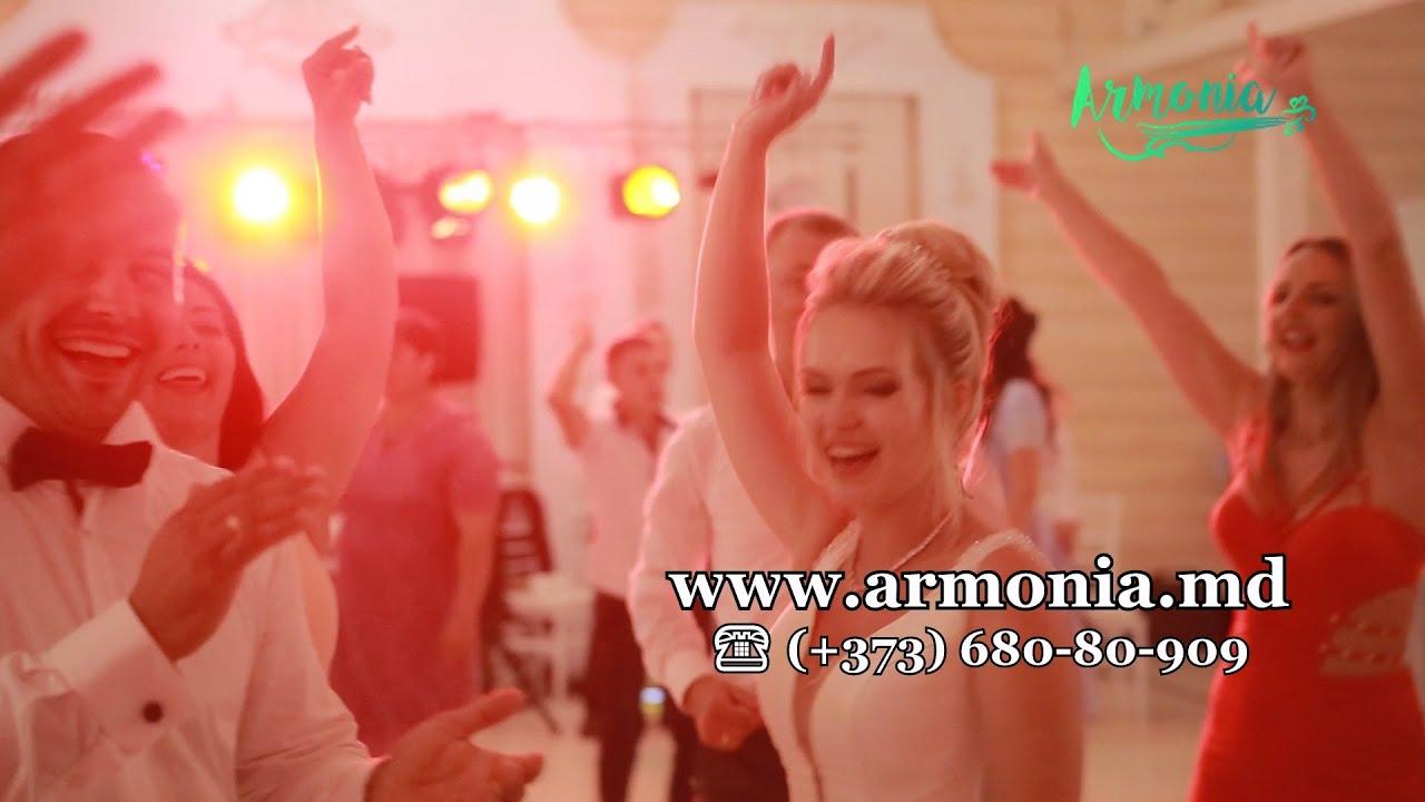 Formatia Armonia Chisinau   Muzica moldoveneasca la nunta   Taraf-Band   Ma inec in ochii tai(Cover)