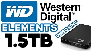 WD Elements 1.5TB - Rozpakowanie i Rzut Okiem [dysk przenośny/zewnętrzny]