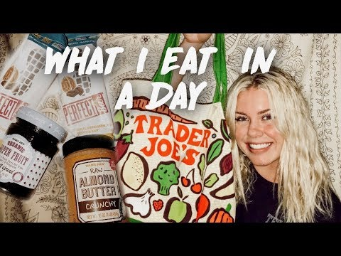 What I Eat In A Day At At College + Healthy Trader Joe's Haul