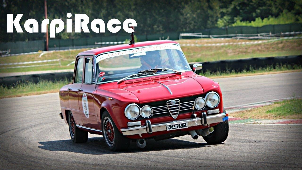 Alfa Romeo Giulia Super 1600 Biscione Verde Race Car Pure Sound