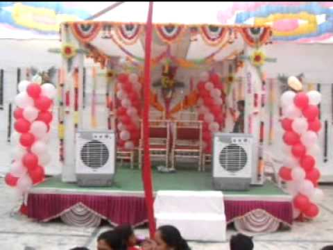 Top Balloon Decoration Marriage Reception Gate Thread Ceremony