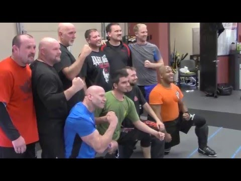 The Minutes After Passing Black Belt Test/USKMA, American Krav Maga
