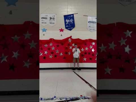 Natchaug school Robbie's graduation