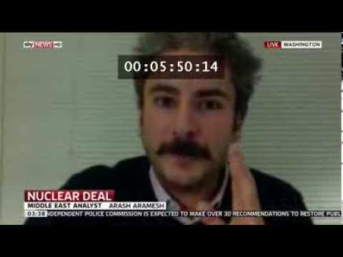 Arash Aramesh of Stanford Discussing Iran Nuclear Deal on Sky News