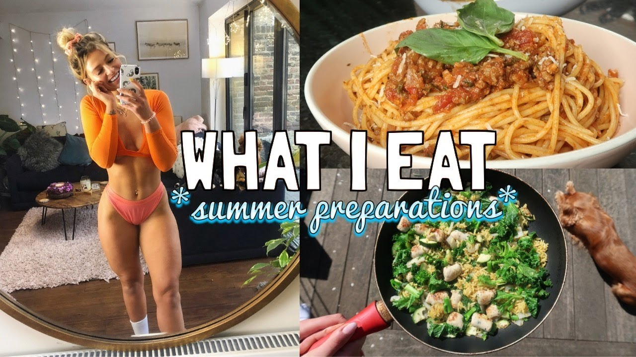 WHAT I EAT IN A DAY: SUMMER PREPARATIONS   GETTING THE PEACH TO THE BEACH EPISODE 3