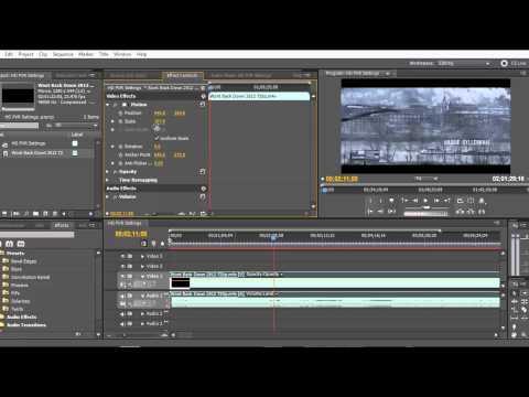 HD PVR Gaming Edition Adobe Premiere Black Bars Removed  1080p HD