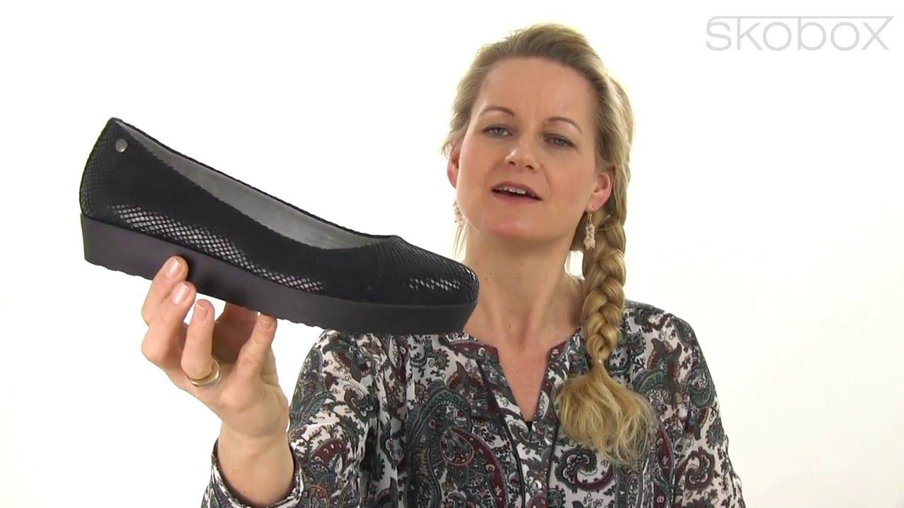 e42167f905 Skobox - Vagabond Edie ballerina krokopræget skind - Køb Vagabond sko online