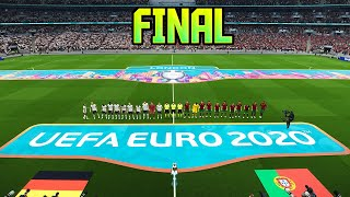 EURO 2020 FINAL GERMANY VS PORTUGAL