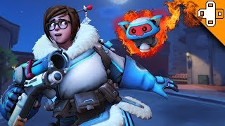 Mei Gets TERRORIZED! Overwatch Funny & Epic Moments 614
