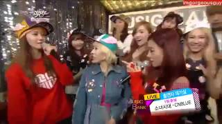 SNSD CNBLUE BackStage 130201 i got a boy girls generation i m sorry gee oh taxi
