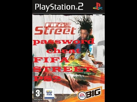 Password-cheat FIFA STREET PS2