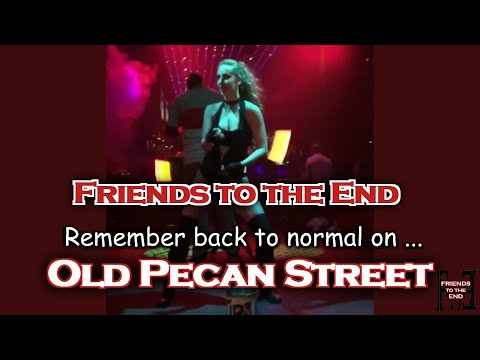 OLD PECAN STREET by Friends to the End [OFFICIAL LYRIC VIDEO] feat. 6th Street Weird