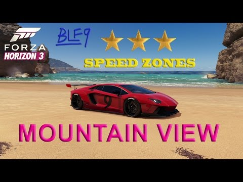 Forza Horizon 3 - Mountain View Speed Zone 3 Stars