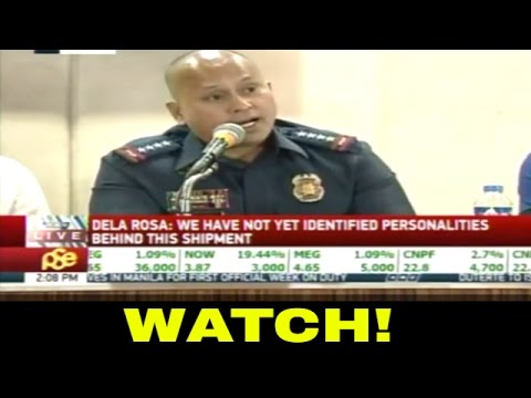 PNP CHIEF DELA ROSA HOLDS MEDIA BRIEFING 2016 - HD