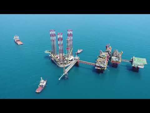 OMV Petrom - Offshore rig move in the Black Sea,  June 2019