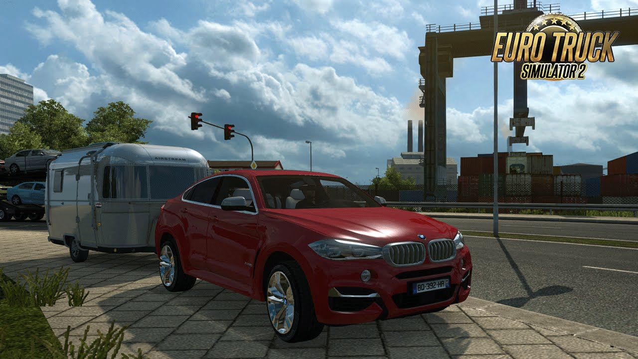 Bmw X6 M I City Car Driving Sur Euro Truck Simulator 2 I Trailer I