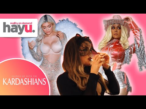 Kardashians Do Halloween! 🎃   Keeping Up With The Kardashians