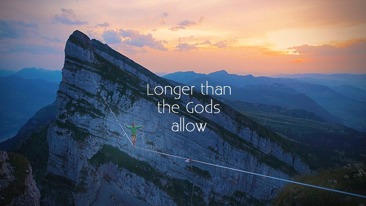 World's longest highline in Switzerland destroyed by a lightning