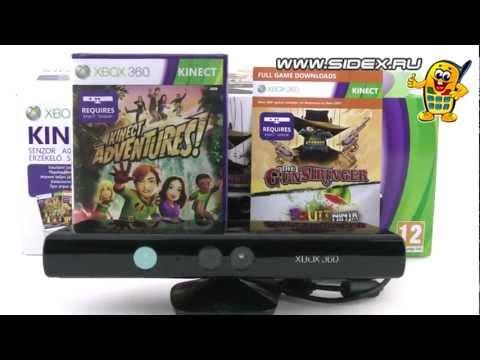 Sidex.ru: Видеообзор Xbox 360 Kinect + Gunstringer + Fruit Ninja (LPF-00075)