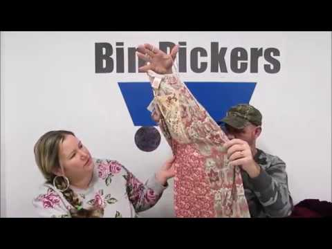 Bin Pickers- Indianapolis Goodwill Outlet Haul to Resell on Ebay- Women's Clothing