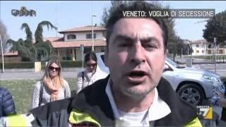 La Gabbia - Veneto: voglia di secessione (23/03/2014)